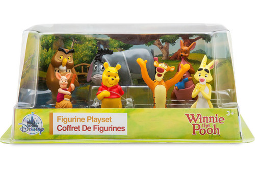 Disney Winnie the Pooh Exclusive 7-Piece PVC Figurine Playset