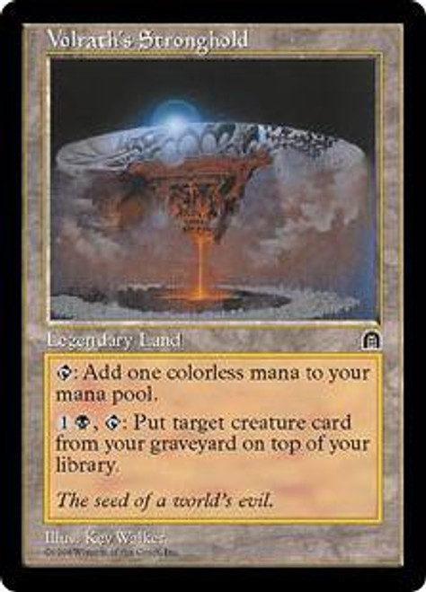 MtG Rare Volrath's Stronghold [Stronghold]