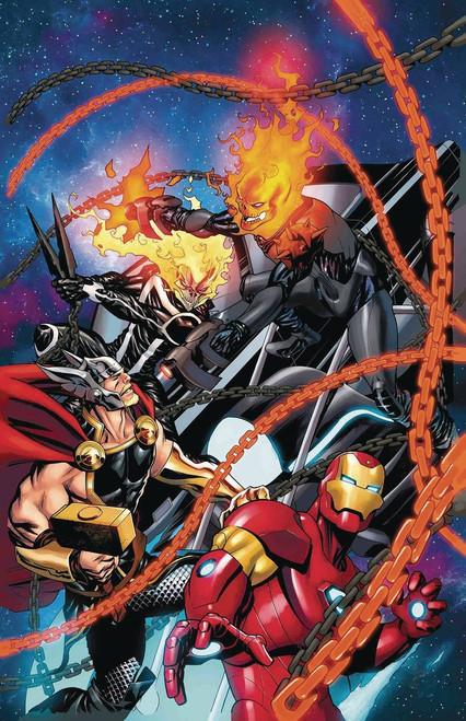 Marvel Comics Avengers #8 Comic Book [Cosmic Ghost Rider Variant Cover]