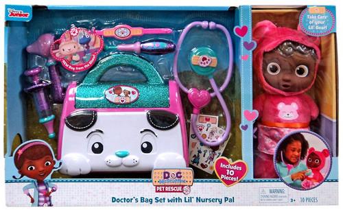 Disney Doc McStuffins Pet Rescue Doctor's Bag Set with Lil' Nursery Pal Exclusive Playset [Lil' Bear]