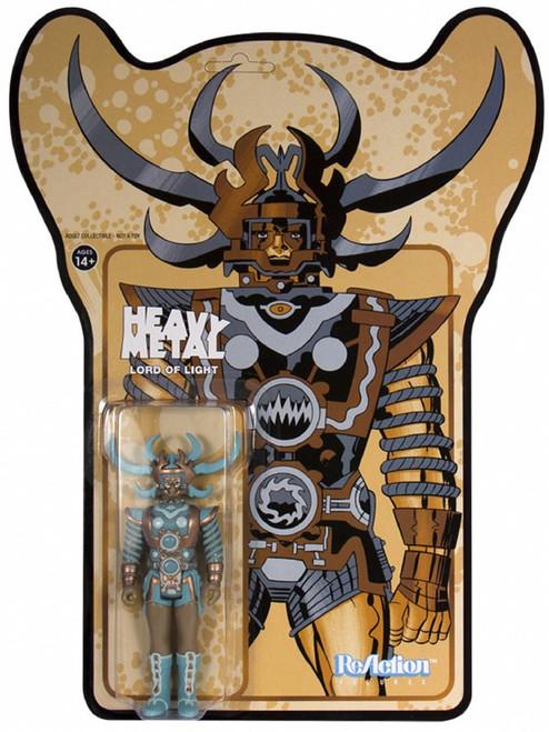 ReAction Heavy Metal Lord of Light Action Figure [Metallic]