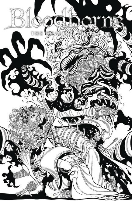 Titan Comics Bloodborne #5 Comic Book [Cover C Moore Black & White]