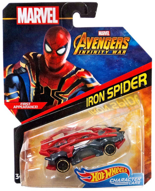 Hot Wheels Avengers Infinity War Character Cars Iron Spider Die-Cast Car