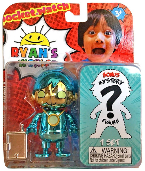 Ryan's World Cobalt Robo Ryan & Mystery Action Figure 2-Pack