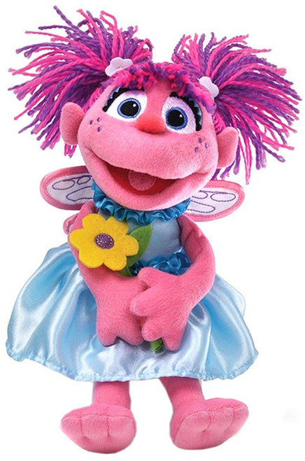 Sesame Street Abby Cadabby 11-Inch Plush [with Flower] (Pre-Order ships April)