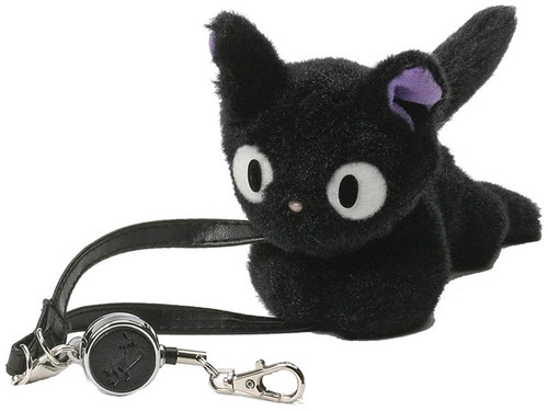 Studio Ghibli Kiki's Delivery Service Jiji Plush Key Holder