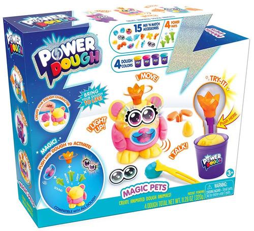 Power Dough Magic Pets Large Playset [4 Dough Colors]