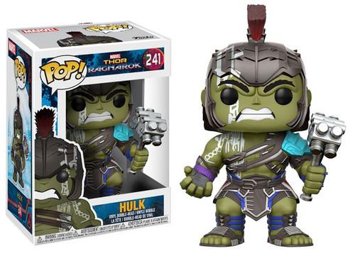 Funko Thor: Ragnarok POP! Marvel Hulk Vinyl Bobble Head #241 [241, Damaged Package]