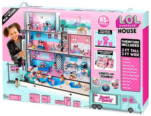 LOL Surprise House Playset [85+ Surprises]