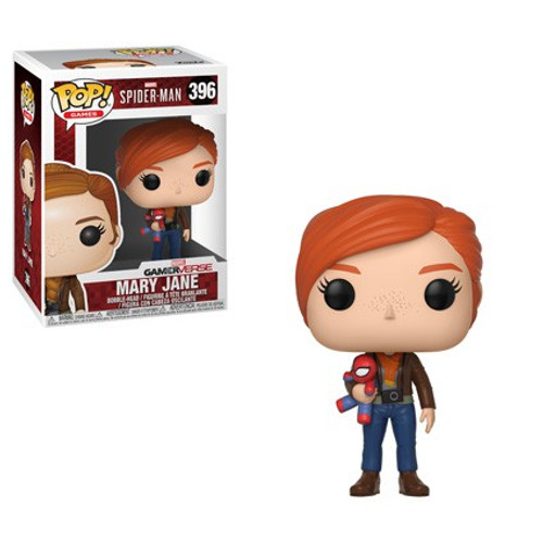 Funko Marvel Gamerverse Spider-Man POP! Games Mary Jane Vinyl Bobble Head #396 [with Plush, Damaged Package]