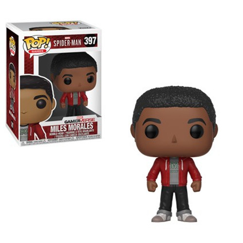 Funko Marvel Gamerverse Spider-Man POP! Games Miles Morales Vinyl Bobble Head #397 [Damaged Package]