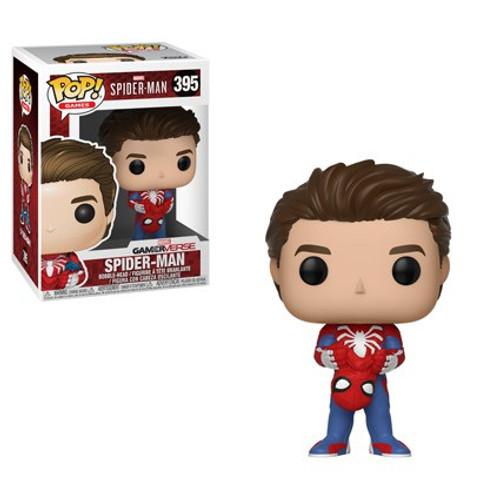 Funko Marvel Gamerverse POP! Games Spider-Man Vinyl Bobble Head #395 [Unmasked, Damaged Package]