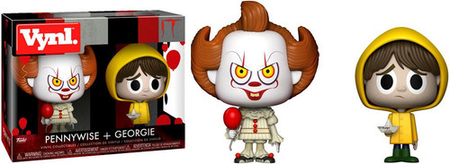 Funko IT Movie (2017) Vynl. Pennywise & Georgie Vinyl Figure 2-Pack [Damaged Package]