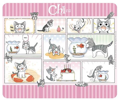 Chi's Sweet Home Chi Comic Mousepad