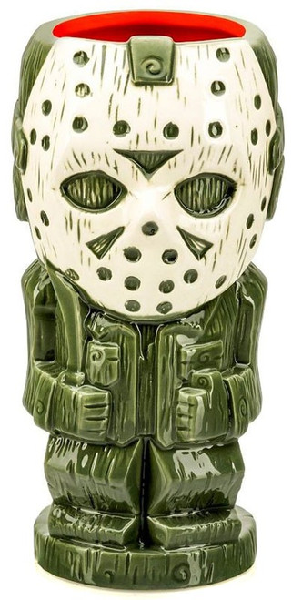 Friday the 13th Geeki Tiki Jason Voorhees 7-Inch Tiki Glass