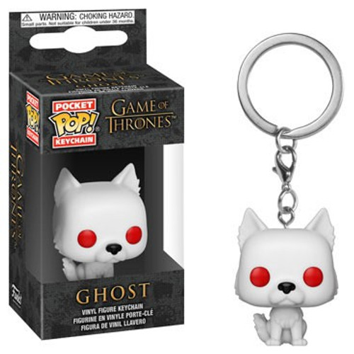 Funko Game of Thrones Pocket POP! TV Ghost Keychain
