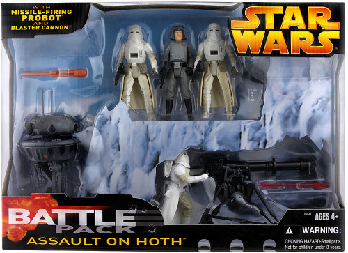 Star Wars Empire Strikes Back Assault on Hoth Battle Pack