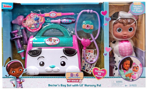 Disney Doc McStuffins Pet Rescue Doctor's Bag Set with Lil' Nursery Pal Exclusive Playset [Lil' Puppy]