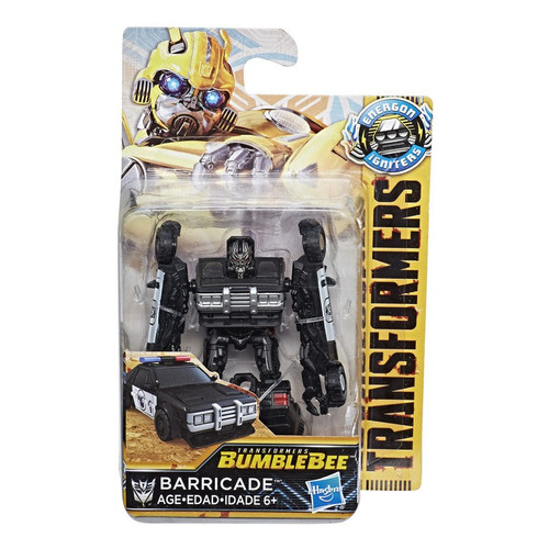 Transformers Bumblebee Movie Energon Igniters Barricade Action Figure