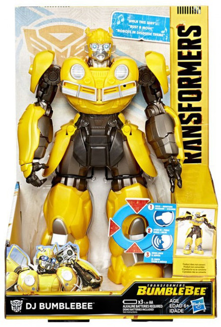 Transformers DJ Bumblebee Action Figure