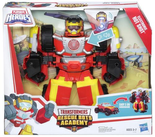Transformers Playskool Heroes Rescue Bots Hot Shot Power Badge Action Figure