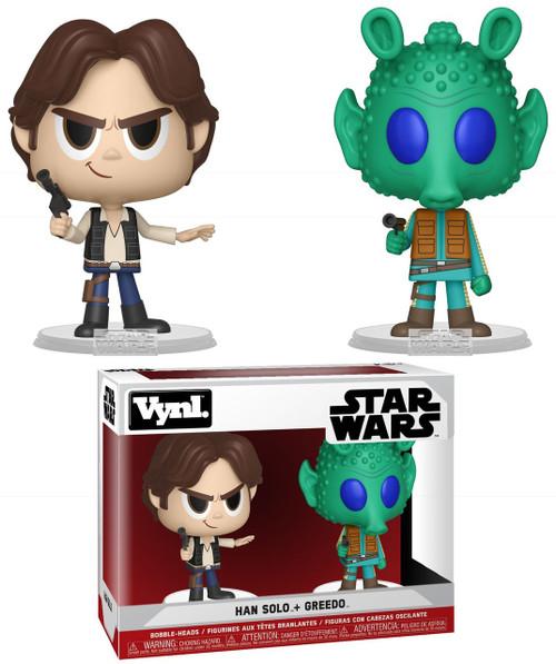 Funko Star Wars A New Hope Vynl. Han Solo & Greedo Vinyl Figure 2-Pack