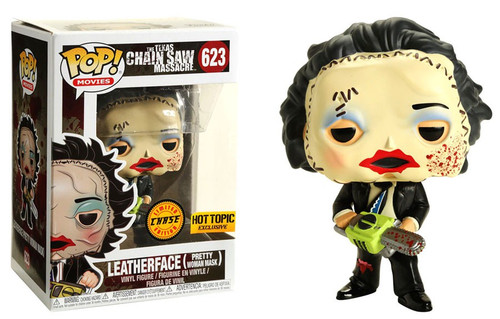 Funko The Texas Chainsaw Massacre POP! Movies Leatherface Exclusive Vinyl Figure #623 [Pretty Woman Mask, Bloody, Chase Version, Horror Box]