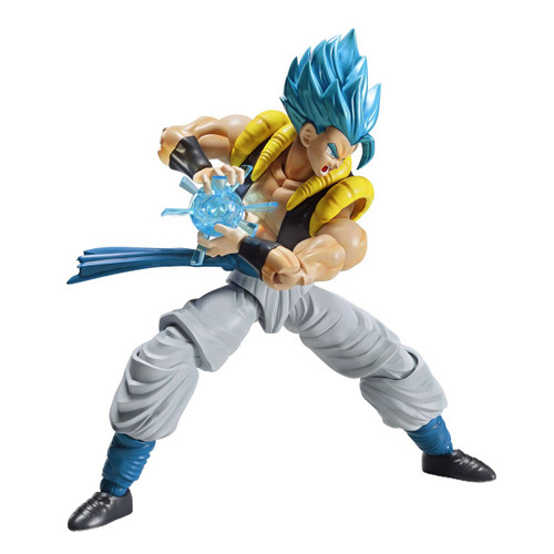 Dragon Ball Super Figure-Rise Standard Super Saiyan God Super Saiyan Gogeta 7-Inch Model Kit Figure