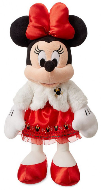 Disney 2018 Holiday Minnie Mouse Exclusive 17-Inch Plush [Red Dress]