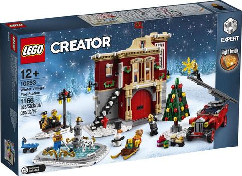 LEGO Creator Winter Village Fire Station Set #10263