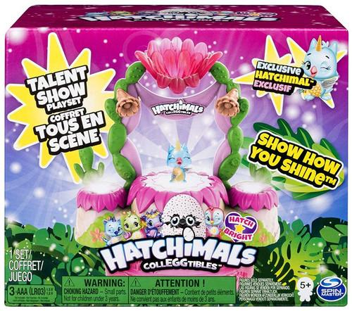 Hatchimals Colleggtibles Hatch Bright Talent Show Playset