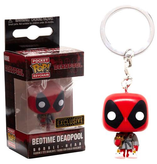 Funko POP! Marvel Bedtime Deadpool Exclusive Keychain