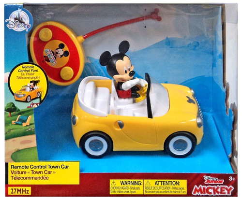 Disney Junior Mickey Mouse Remote Control Town Car Exclusive R/C Vehicle [27MHz]