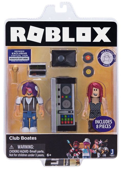 Roblox Celebrity Collection Club Boates Action Figure Game Pack