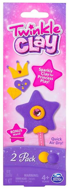 Twinkle Clay [Yellow & Purple, Bonus Wand!]