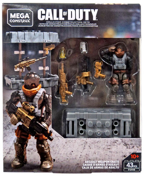 Call of Duty Assault Weapon Crate Set