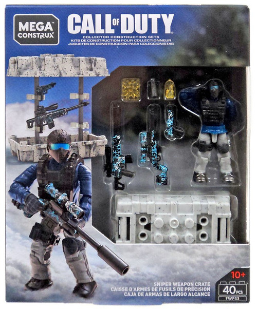 Call of Duty Sniper Weapon Crate Set