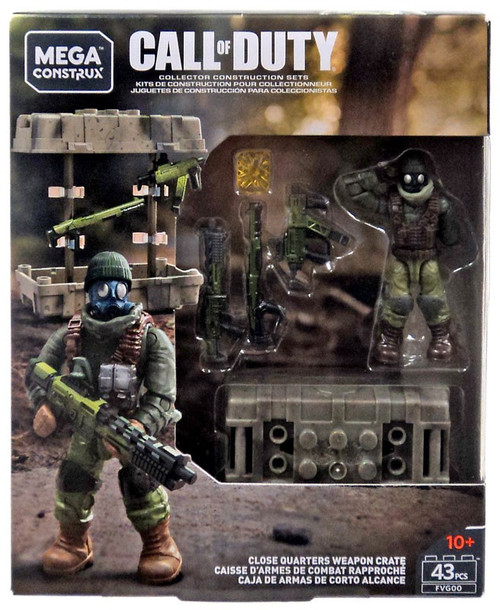 Call of Duty Close Quarters Weapon Crate Set