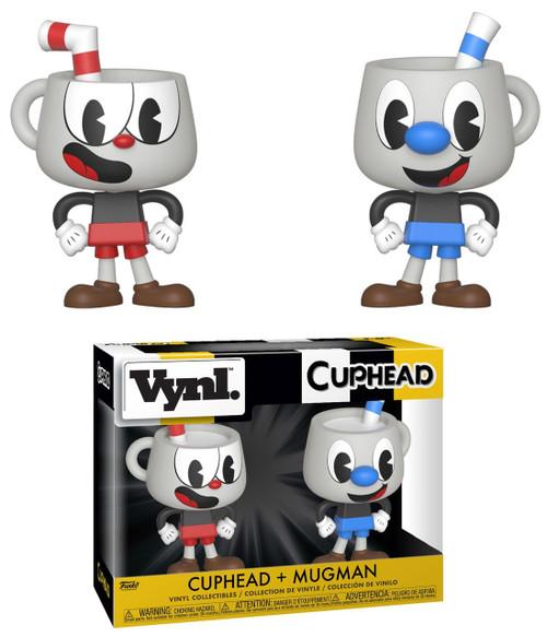 Funko Vynl. Cuphead & Mugman Vinyl Figure 2-Pack