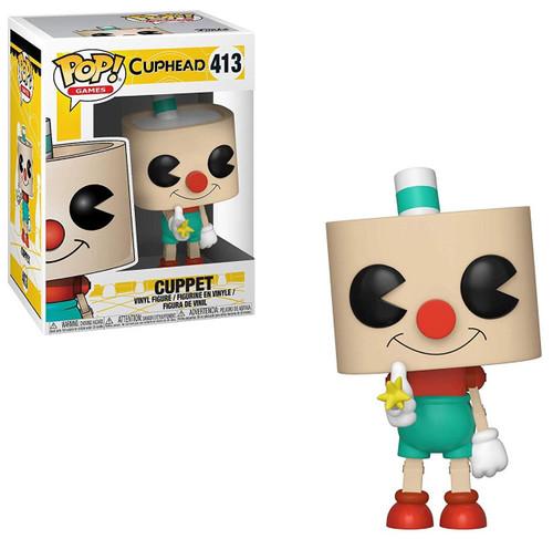 Funko Cuphead POP! Games Cuppet Vinyl Figure #413