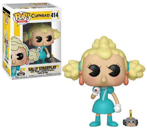 Funko Cuphead POP! Games Sally Stageplay Vinyl Figure #414