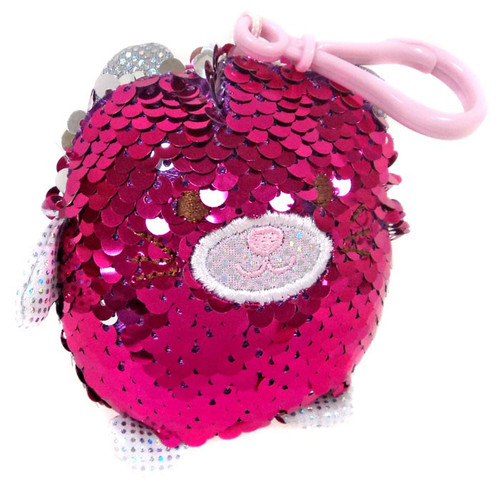 Surprizamals Puchi Gumi Sequin Cat Plush Hanger