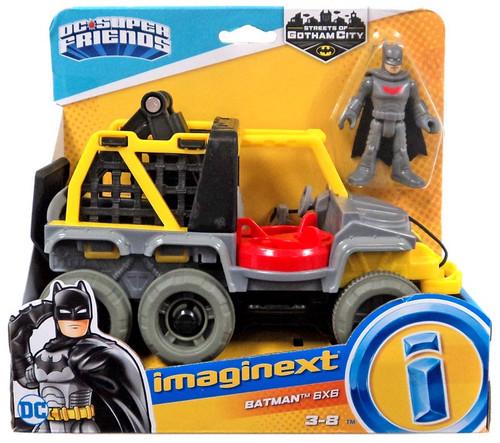 Fisher Price DC Super Friends Imaginext Gotham City Batman 6x6 3-Inch Figure Set