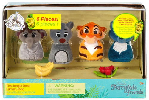 Disney Furrytale Friends The Jungle Book Family Pack Exclusive