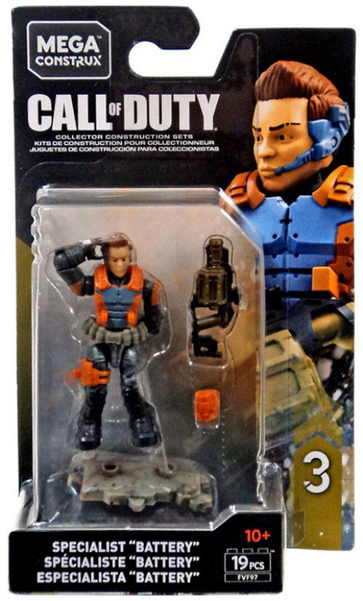 """Call of Duty Specialists Series 3 Specialist """"Battery"""" Mini Figure"""