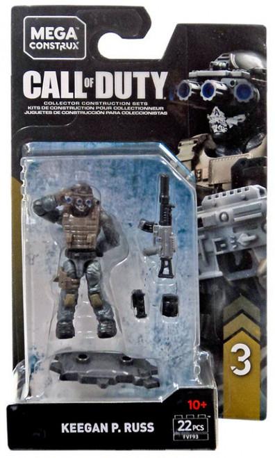 Call of Duty Specialists Series 3 Keegan P. Russ Mini Figure