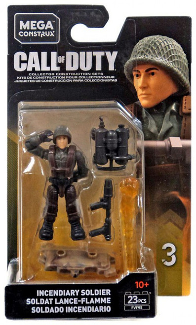 Call of Duty Specialists Series 3 Incendiary Soldier Mini Figure