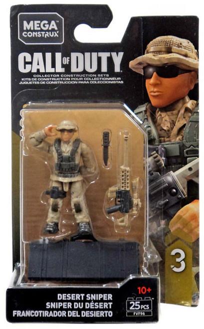 Call of Duty Specialists Series 3 Desert Sniper Mini Figure