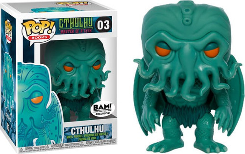 Funko POP! Books Cthulhu Exclusive Vinyl Figure #03 [Turquoise, Damaged Package]