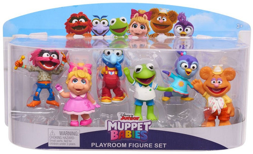 Disney Junior Muppet Babies Playroom Set 2.5-Inch Mini Figure 6-Pack